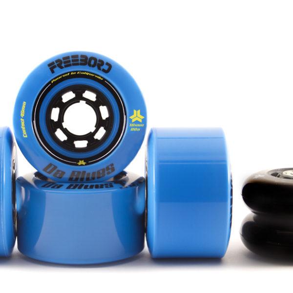 Da Blues Wheel Kit 4 Wheels (78mm|80a), 2 Upgrade Center wheels (72mm|88a)-0