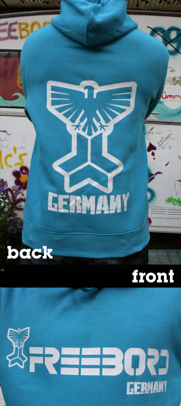 Freebord Hoodie -Freebord Germany Eagle--139