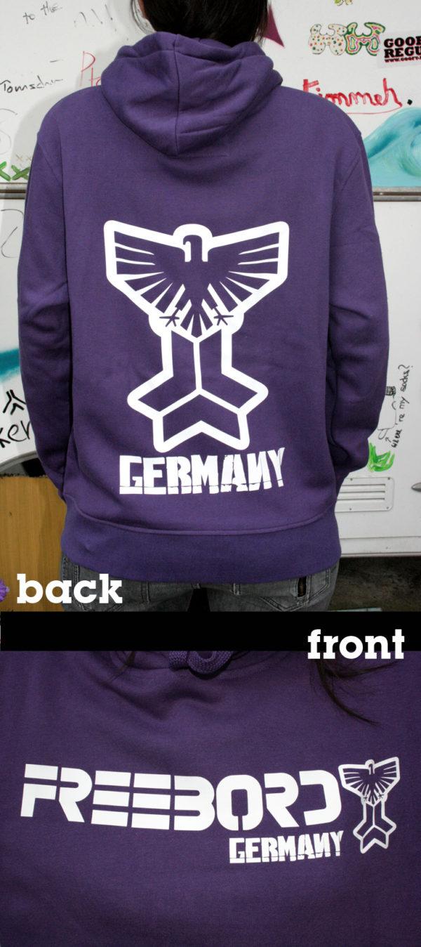 Freebord Hoodie -Freebord Germany Eagle--143
