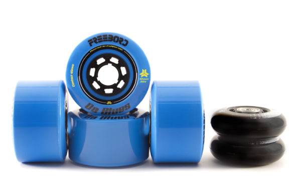 Da Blues Wheel Kit 4 Wheels (78mm|80a), 2 Upgrade Center wheels (72mm|88a)-75