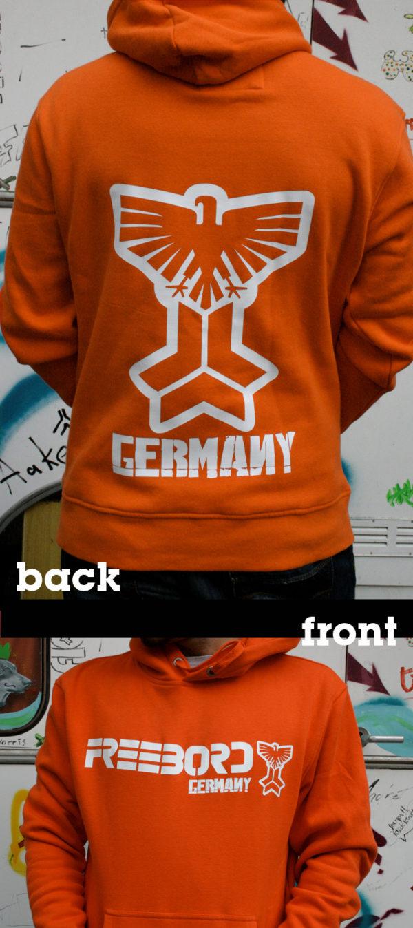 Freebord Hoodie -Freebord Germany Eagle--144