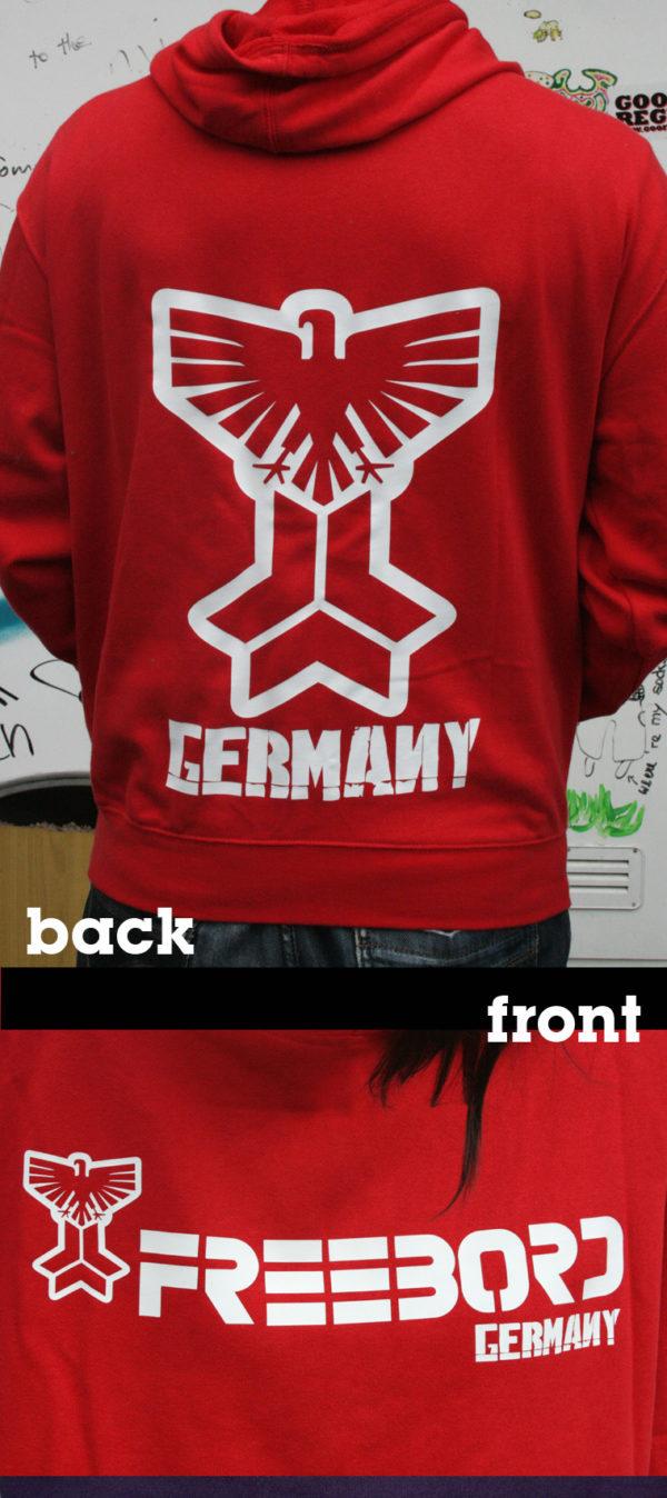 Freebord Hoodie -Freebord Germany Eagle--142